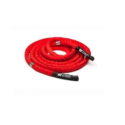 Канат TRX для кроссфита Fitness Division 15 м красный