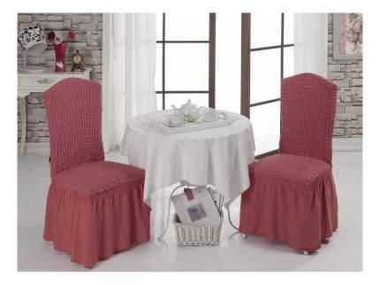 Чехол на стул KARNA Bet грязно-розовый