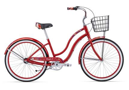 Велосипед Giant Simple Three W 2016 One Size красный