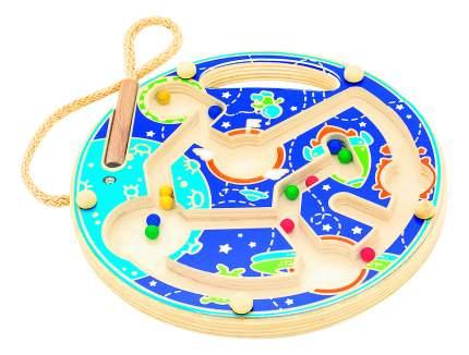 Деревянная игрушка для малышей Мир Деревянных Игрушек Космос