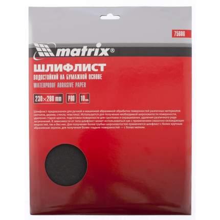 Наждачная бумага MATRIX 75606
