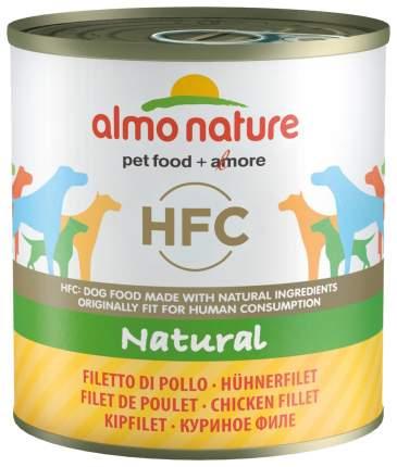 Консервы для собак Almo Nature Classic, куриное филе, 95г