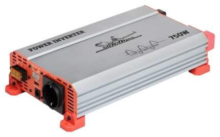 Инвертор AIRLINE 12В-220В, 750 Вт чистый синус