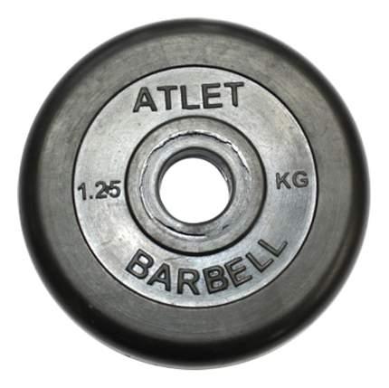 Диск для штанги MB Barbell Atlet 1,25 кг, 31 мм