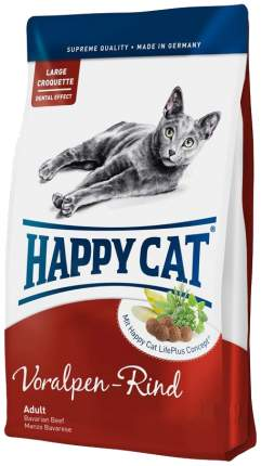 Сухой корм для кошек Happy Cat Fit & Well, альпийская говядина, 1,8кг