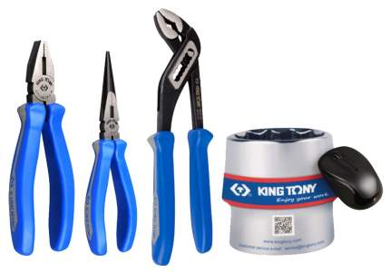 Набор шарнирно-губцевого инструмента KING TONY P42103GP01