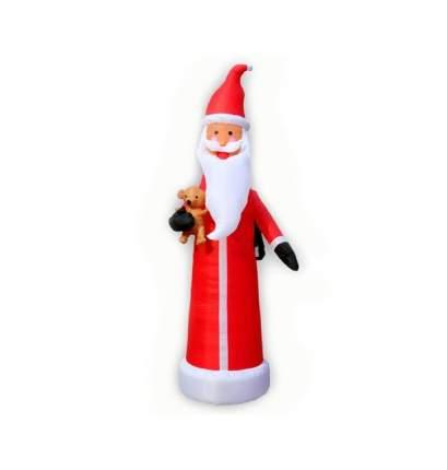 Надувная фигура Дед Мороз стройный 2.7 м подсветка SCL-20/2,7