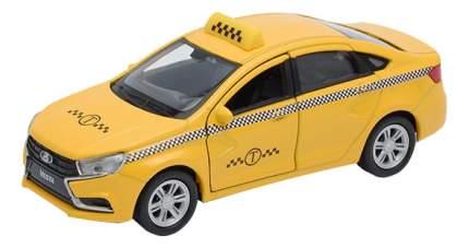 Коллекционная модель Welly LADA Vesta Такси 1:34