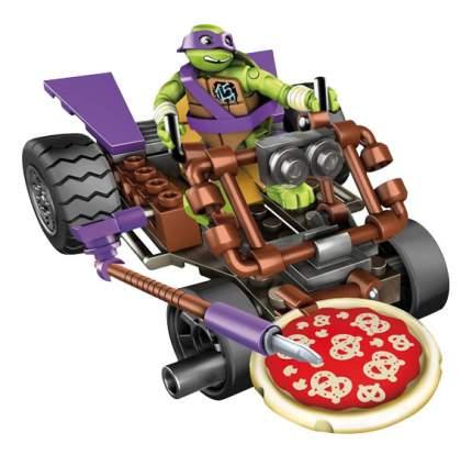 Конструктор пластиковый Mega Bloks Teenage Mutant Ninja Turtles. Donnie Pizza Buggy