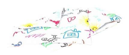 Комплект в коляску: одеяло, подушка, наматрасник Dream a Dream Переменка белый