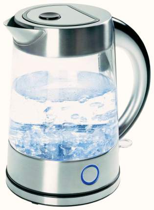 Чайник электрический Tefal Glass Kettle KI760D Silver
