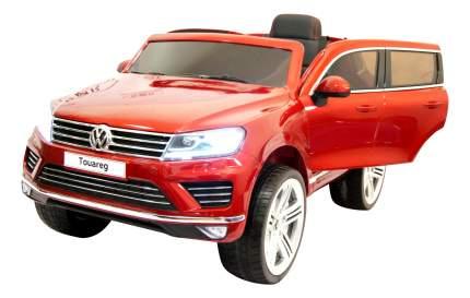 Электромобиль Volkswagen Touareg вишневый глянец RIVERTOYS