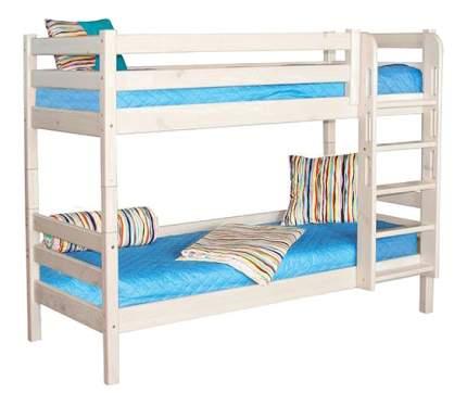 Двухъярусная кровать МебельГрад Соня с прямой лестницей (вариант 9)