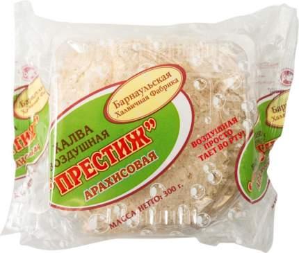 Халва воздушная престиж Барнаульская Халвичная Фабрика арахисовая 300 г