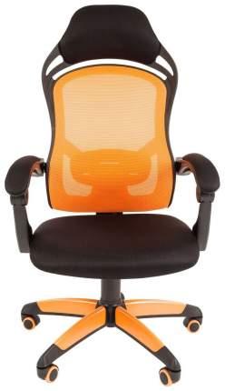 Игровое кресло CHAIRMAN game 12 00-07016631, оранжевый/черный