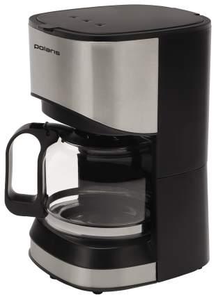 Кофеварка капельного типа Polaris PCM 0613A Black/Silver