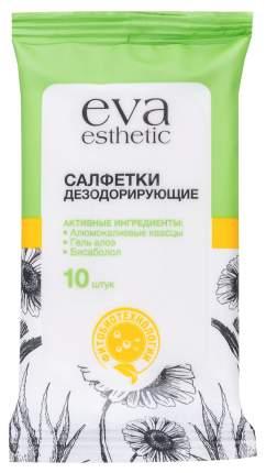Влажные салфетки Eva Esthetic Дезодорирующие 10 шт