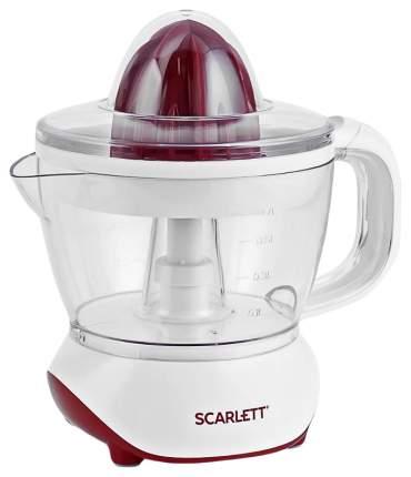 Соковыжималка для цитрусовых Scarlett SC-JE50C06 white/red