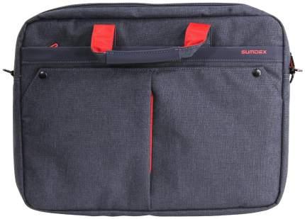 """Сумка для ноутбука 15.6"""" Sumdex PON-202 NV синяя"""