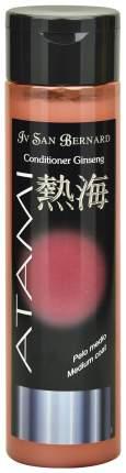 Кондиционер для кошек и собак ISB Atami Ginseng оживляющий для шерсти средней длины, 300мл