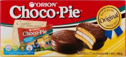 Пирожное  сhoco pie Orion 30 г 6 штук