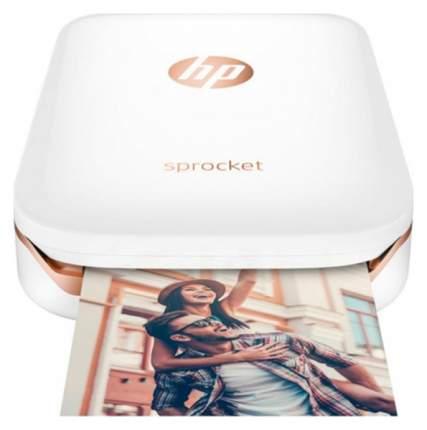 Компактный фотопринтер HP Sprocket Photo Z3Z91A White