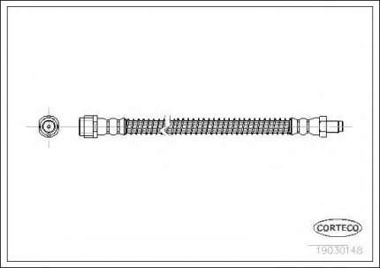Шланг тормозной системы Corteco 19030148