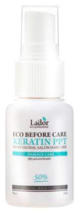 Спрей для волос La'dor Eco Before Care Keratin PPT восстанавливающий кератиновый 30 мл