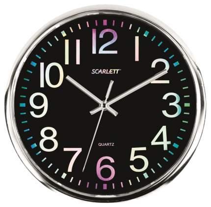 Часы настенные Scarlett SC-WC1010O Черный, Серый