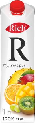 Сок Rich мультифрут 1 л