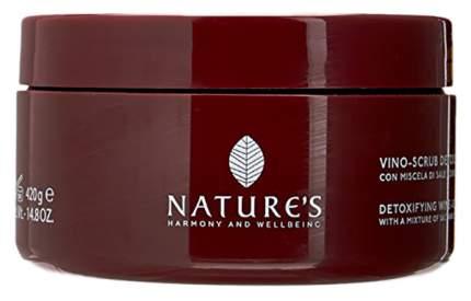 Скраб для тела Nature's Beauty Nectar Vino-Scrub Detossinante 420 мл