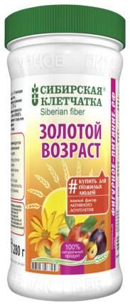 Клетчатка Сибирская золотой возраст 280 г