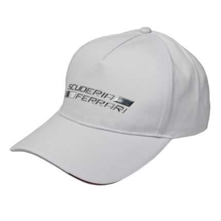 Бейсболка Ferrari Shield Metal 270028920R White
