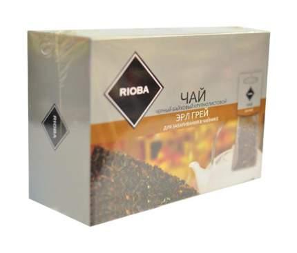 Чай эрл грей Rioba черный байховый крупнолистовой 20 пакетиков