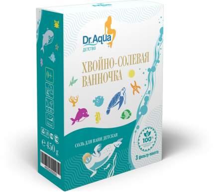 Хвойно-солевая ванночка Кедр, Пихта, Сосна Dr. Aqua 450 гр