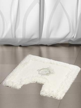 Ковер для туалета 50х50(бел) Royal акрил