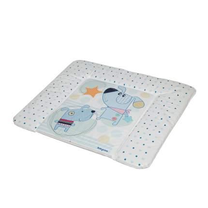 Матрас для пеленания Baby Care Паппи Дог, 820х730х210, голубой