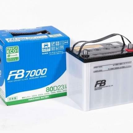 Аккумулятор автомобильный Furukawa Battery FB 7000 80D23L 68 Ач