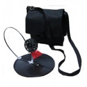 Комплект жерлиц в сумке диаметр круга 170 мм, диаметр катушки 63 мм