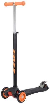 Кикборд RainBow, черно-оранжевый Foxx