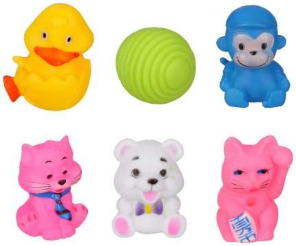 Игрушка для купания Крошка Я Наш малыш 2932024 6 шт в ассортименте