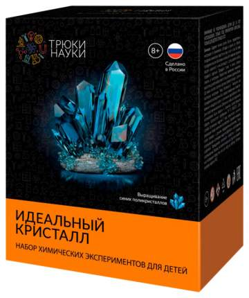 Набор ТРЮКИ НАУКИ Z117 Идеальный кристалл (синий)