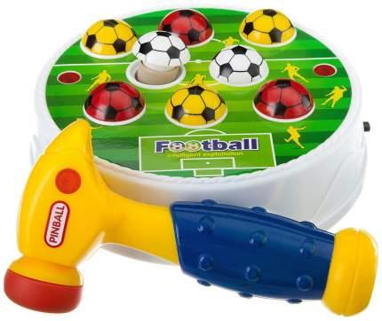 Игра настольная Junfa toys Футбол-стучалка со звуковыми и световыми эффектами