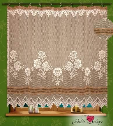 Классические шторы КаСЛ Allgar Цвет: Кремовый/Коричневый