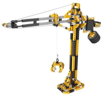 Конструктор ENGINO JCB40 JCB Набор из 3 моделей. Подъемный кран с мотором