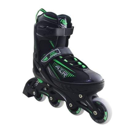 Раздвижные роликовые коньки RGX Air Green M 37-40