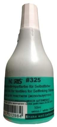 Краска штемпельная для хлопковых тканей Noris 325С 50 мл Белая...