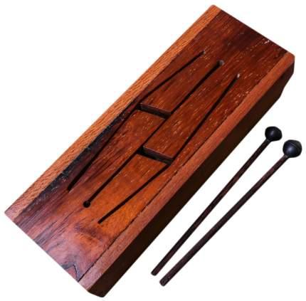 """Музыкальный инструмент дерево """"Ксилофон"""" 12x33x7 см Sima-Land"""