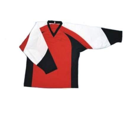 Лонгслив Mega 6927, красный/черный/белый, L INT