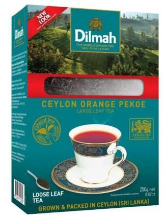 Чай Dilmah черный цейлонский листовой 250 г